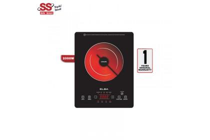 Elba ECC-J2015 BK 2000W Timer Function Touch Sensor Vitro Ceremic Cooker