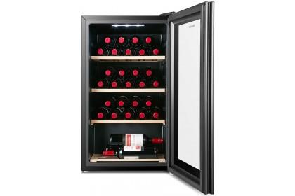 Hisense RW-30N4ATB 110L 30 Bottle Wooden Shelves Electronic Control LED Light Wine Chiller
