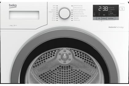 Beko 8KG DHX83420W  Aquawave Heat Pump Digital Display Energy Saving A++ Sensor Drying Cloth Dryer