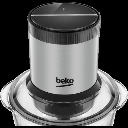 Beko CHG7402X Beko 400W 1L Anti Scratch GLass ELectric Chopper