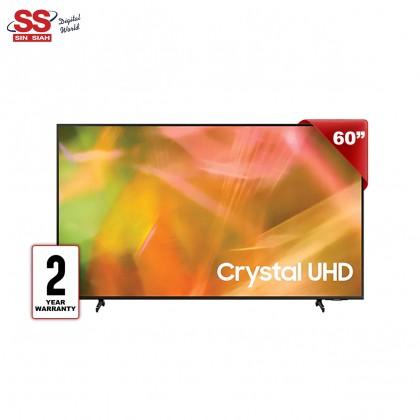 "Samsung UA-60AU8000K 60"" Dynamic Crystal UHD 4K Smart Tizen Bixby Motion Xcelerator Air Slim LED TV"